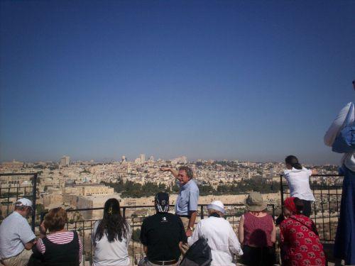 Lezione a Gerusalemme