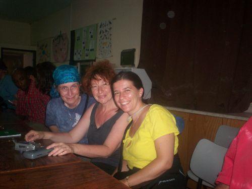 Laura, Betty e Danielle
