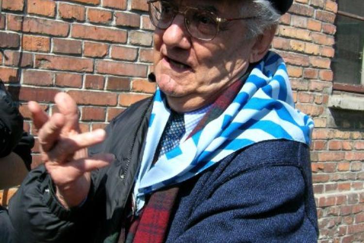 Shlomo Venezia sopravvissuto di Birkena