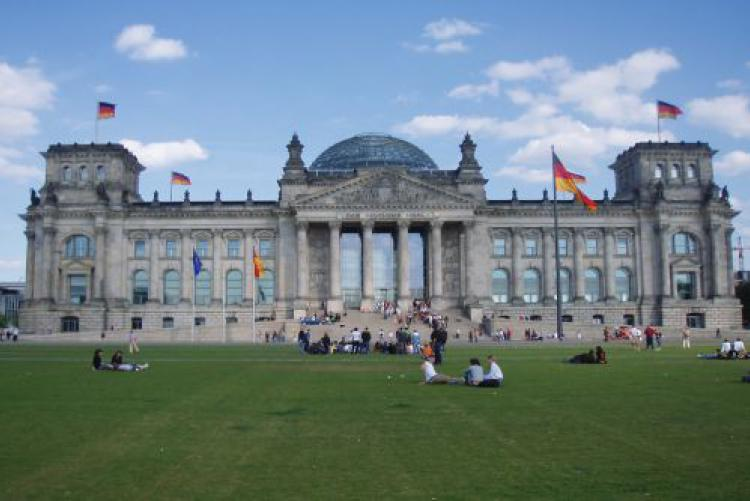 Deutscher Bundestag-Parlament Berlin