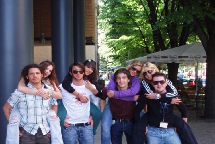 Gruppo studenti