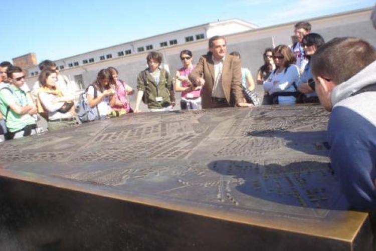 In visita al KZ Sachsenhausen