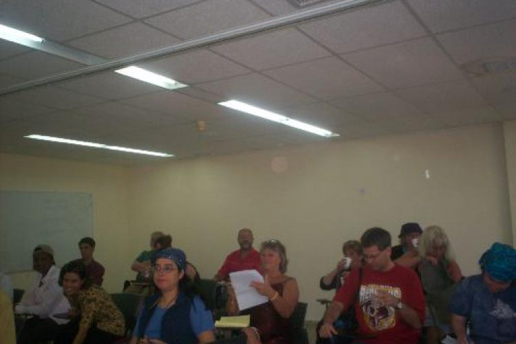 Gruppo a lezione