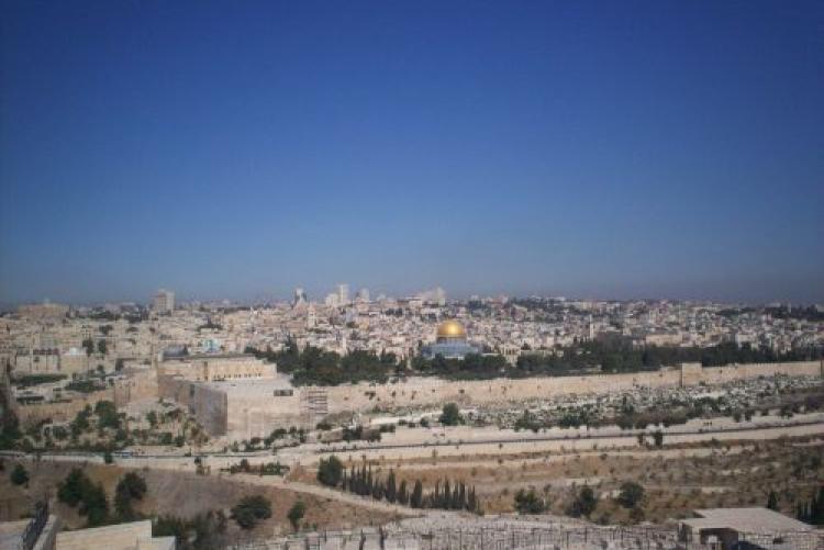 Veduta di Gerusalemme